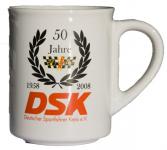 DSK Jubiläums Tasse